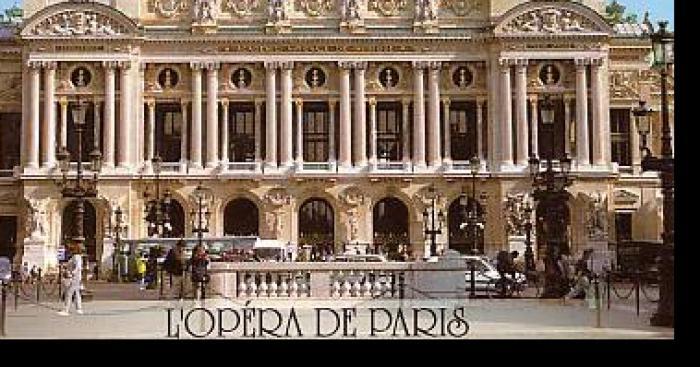 La Scène de L'opéra de Paris a prise feu