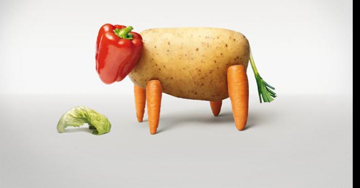 Le gouvernement interdit les végétariens pour sauver le marché de la viande