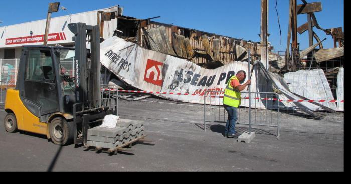 Buchelay : après l'incendie, l'activité continue chez Réseau Pro, un suspect en cours d'indentification