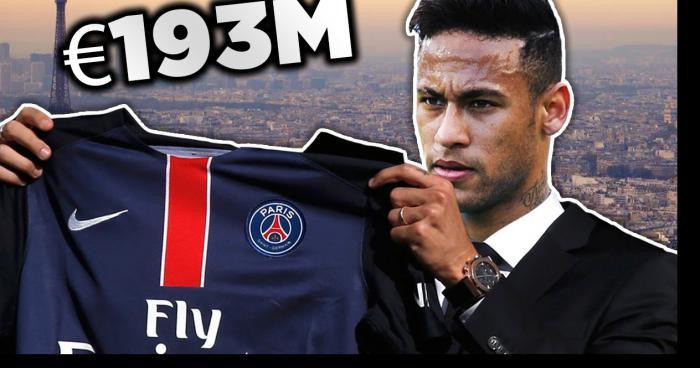 Officiel Neymar  4ans au PSG
