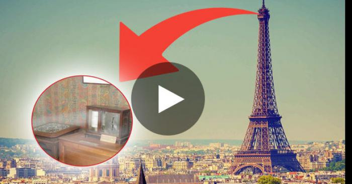 Un appartement secret de 100 m carré dans la Tour Eiffel