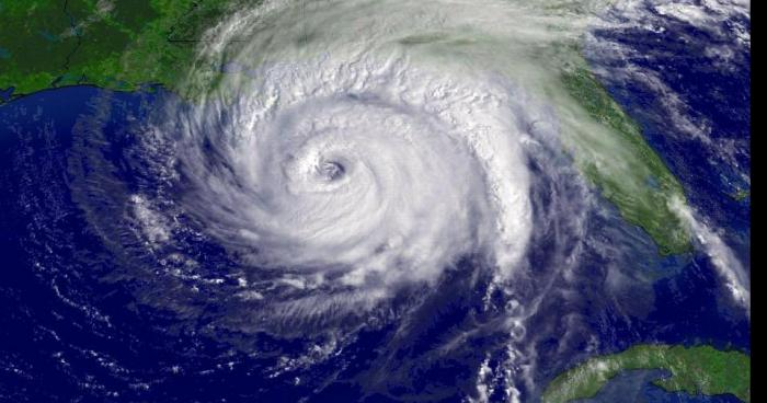 Cyclone de forte intensité en Polynésie Française