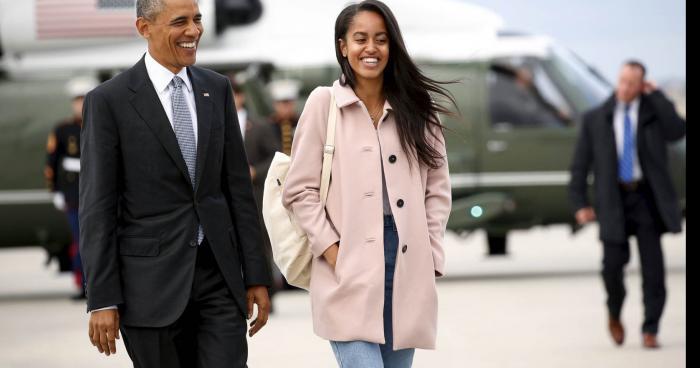La fille de Barack Obama, Malia âgée de 16 ans serait enceinte