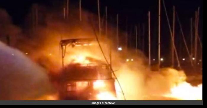 Le 10 mai 2017, un Incendie ravage Yvoire
